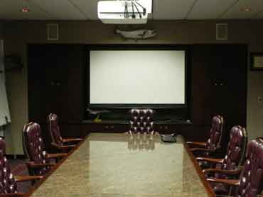 Houston Firm gets a completely customized Conference Room by Capitol Audio Video